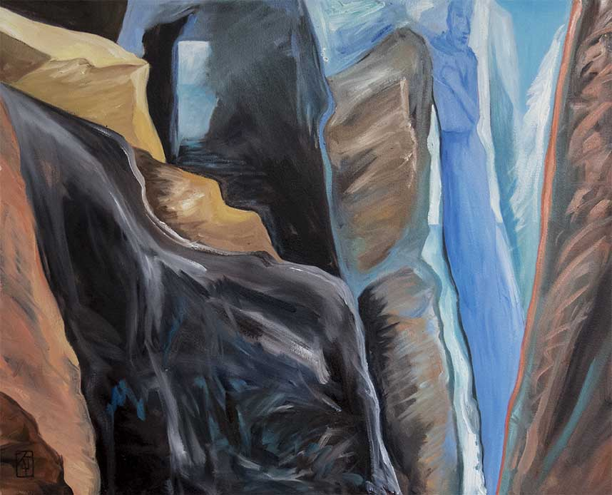 Between-A-Rock-And-A-Hard-Place,refugees,landscapes,art,art_pictures,landscape_painting,fine_art