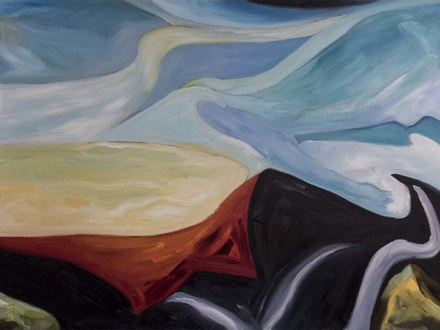 Reaching For Freedom,,refugees,landscapes,art,art_pictures,landscape_painting,fine_art