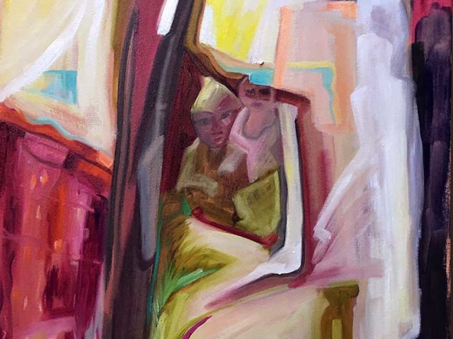 transitions,paintings, artwork, abstract painting,refugees