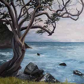 matheson bay,wall art,landscapes paintings,contemporary,